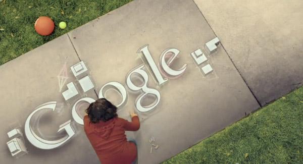 3D надпись на асфальте для проекта GoogleMaps