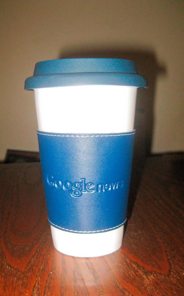Google кружка для кофе