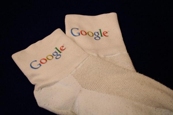 Мужские носки с логотипом Google