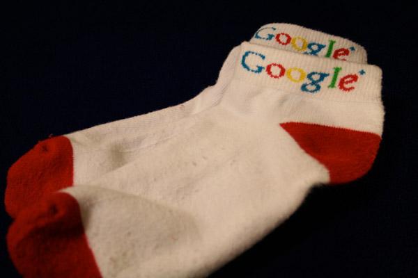 Женские носки с логотипом Google