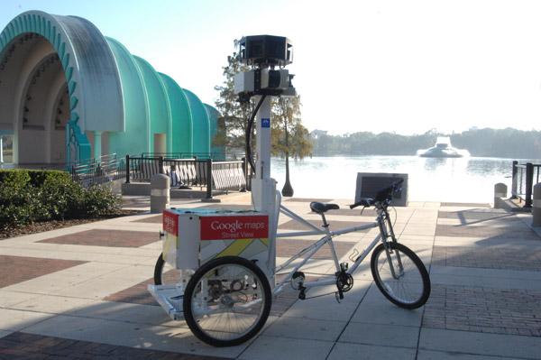 GoogleMaps велосипед в Орландо, штат Флорида, озеро Еола