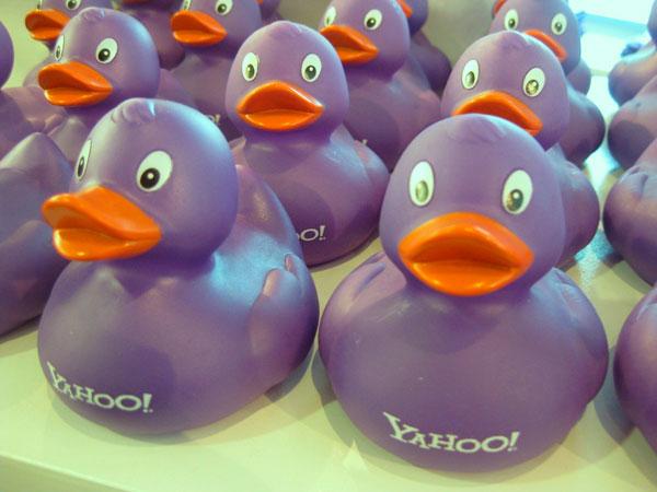 Уточки в стиле Yahoo