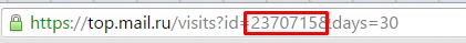 Top.Mail id сайта