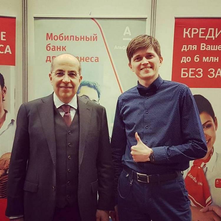 Алаев и гуру маркетинга